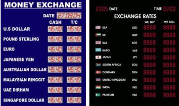 Forex bank exchange rates idag